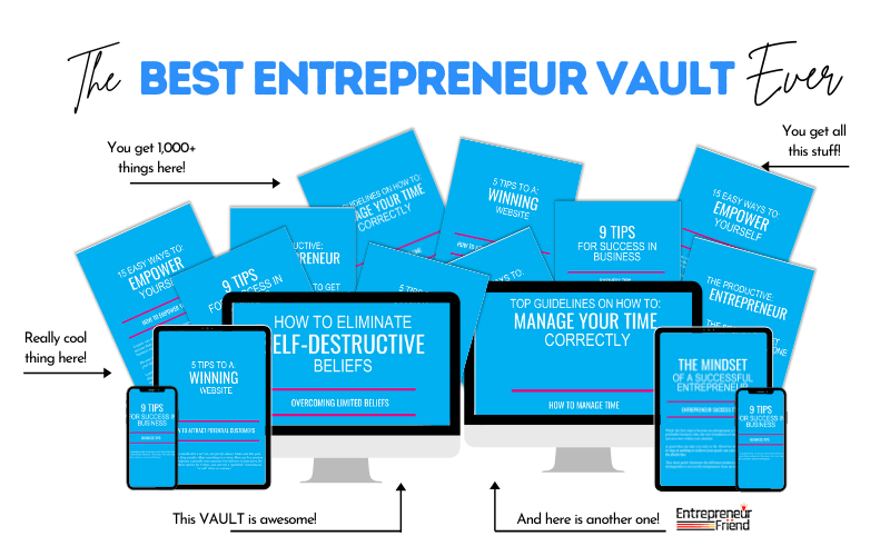 entrepreneur friend vault