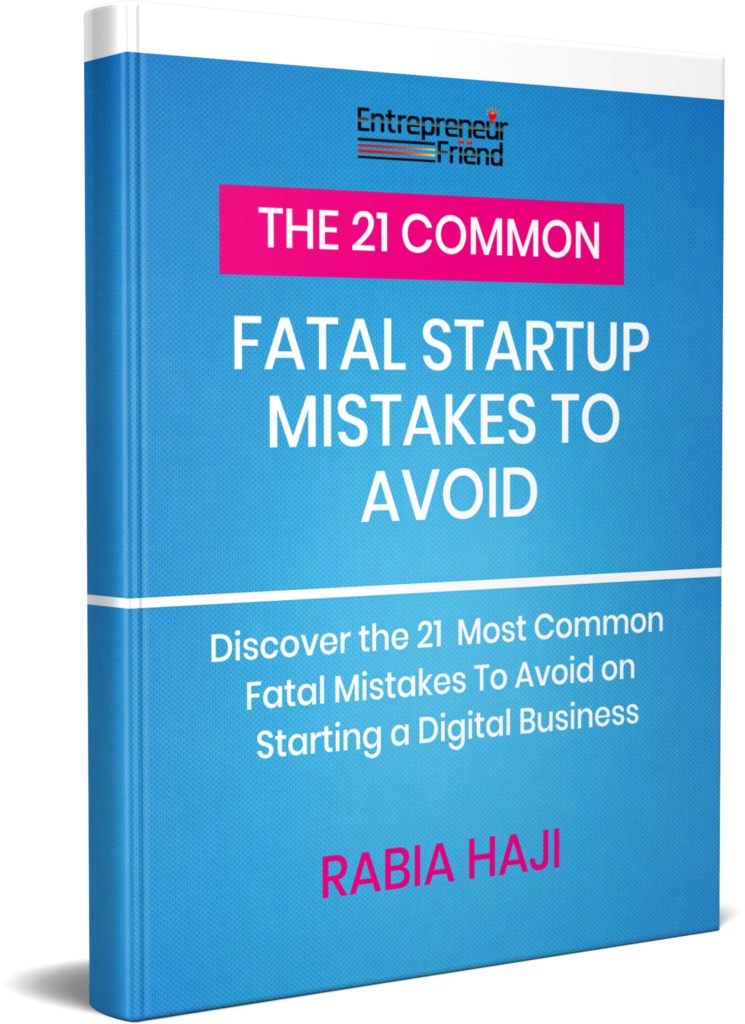 the 21 fatal startup mistakes on starting a digital business  entrepreneur tips and strategies entrepreneur friend