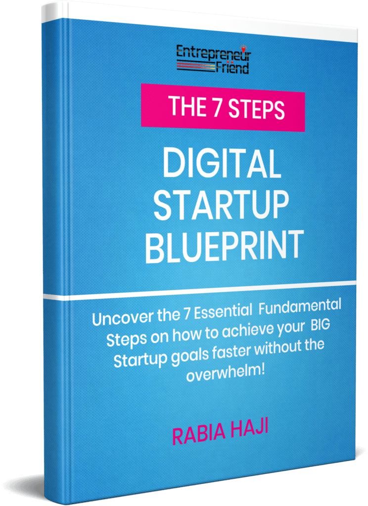 7-Steps Digital Startup Blueprint entrepreneur friend